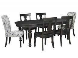 AA71 7 Piece Set With Upholstered End Chairs