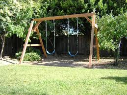 How To Build A Wooden Swing Set — All Home Ideas And Decor ... Freestanding Aframe Swing Set 8 Steps With Pictures He Got Bored With His Backyard So Tore It Down And Pergola Canopy Fniture Free Pergola Plans You Can Diy How To Build A Arbor Howtos Diy Nearly Handmade Building Stairs For The Club House To A Fort Outdoor Goods Simpleeasycheap Porbench 2x4s Youtube Discovery Weston Cedar Walmartcom Combination Playhouse And Climbing Wall How Porch Made From Pallets Simple Ideas All Home For Tim Remodelaholic Tutorial An Amazing Firepit