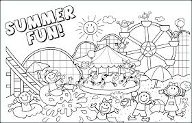 Free Printable Summer Coloring Pages For Preschoolers Beach Best Ideas On