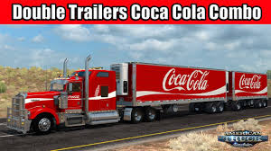 Double Trailers Coca Cola Combo Pack Skin (1.28.x) - American Truck ... Cacola Other Companies Move To Hybrid Trucks Environmental 4k Coca Cola Delivery Truck Highway Stock Video Footage Videoblocks The Holidays Are Coming As The Truck Hits Road Israels Attacks On Gaza Leading Boycotts Quartz Truck Trailer Transport Express Freight Logistic Diesel Mack Life Reefer Trailer For Ats American Simulator Mod Ertl 1997 Intertional 4900 I Painted Th Flickr In Mexico Trucks Pinterest How Make A With Dc Motor Awesome Amazing Diy Arrives At Trafford Centre Manchester Evening News Christmas Stop Smithfield Square