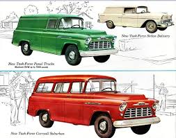 100 Panel Trucks 1956 Chevrolet Truck Suburban Sedan Delivery Flickr