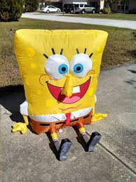 Halloween Airblown Inflatable Lawn Decorations by Image Gemmy Inflatable Talking Spongebob 2 Jpg Gemmy Wiki