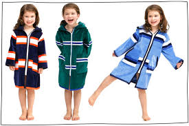 Kids Beach Robes To Wear After Swimming Lessons