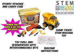 100 Dump Truck Storage Learn2Build STEM Toy FunstructionToys