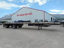 100 Utility Truck Parts 1998 UTILITY 48 Ft Flatbed Trailer For Sale Farr West UT Rocky