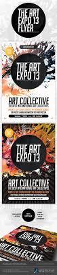 Art Expo Show Event Flyer Template PSD On Behance