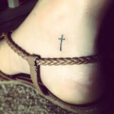 Small 3d Cross Tattoo 16 80891e9d8cac75f99778ff3d83bbe973 Ankle Tattoos