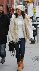 Jacket Victoria Justice Winter Sweater Outfits Vest Cardigan