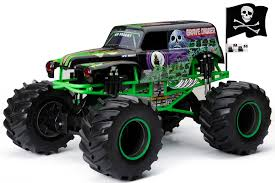 100 New Bright Rc Trucks RC Monster Jam 18 Scale 4x4 Radio Control Truck Grave