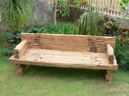 Solid Wooden Benches Outdoor Indoor Wood Benches Contemporary