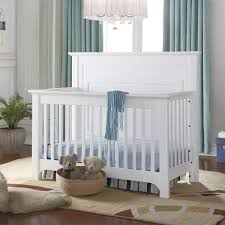 Halo Bed Rail by Barclay 3 In 1 Crib With Rails In White