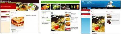 site recette de cuisine la création d un site web de cuisine pas à pas webnode