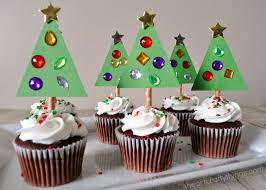 Insert The Christmas Tree Cupcake Toppers Into Center Of Your Cupcakes I Pressed Mine To Very Bottom We Made Our With