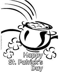 Happy St Patricks Day Coloring