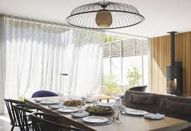 Dining Room Chandelier Lighting Awesome Add Softness To The With Curtains Drapes Of