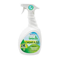 All Floors Carpet by Tropiclean Fresh Breeze 2x Carpet And All Floors Spray Nekojam
