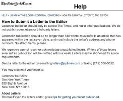 Seven tips for writing letters to the editor that can help you