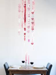 Valentines Day Paper Heart Garland