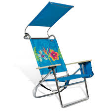 Copa Beach Chair With Canopy by Deluxe Multi Position Canopy Beach U0026 Camping Pool Chair By Copa