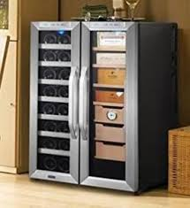 Cigar Humidor Cabinet Combo amazon com whynter cwc 351dd freestanding wine cooler and cigar