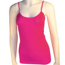 women u0027s basic stretch camisole tank top spaghetti strap long cami