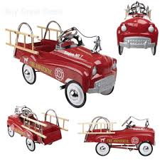 InStep Stylish Fire Truck Pedal CAR, Adjustable Pedal Drive Steel ... 1960s Murry Fire Truck Pedal Car Buffyscarscom Vintage Volunteer Dept No 1 By Gearbox Syot Deluxe Fire Truck Pedal Car Best Choice Products Ride On Truck Speedster Metal Kids John Deere M15 Nashville 2015 Kalee Toys From Pramcentre Uk Wendy Chidester Engine Pedal Car Pating For Sale At 1stdibs Radio Flyer Fire Dolapmagnetbandco 60sera Blue Moon Vintage Ford Gearbox Superman Awespiring Instep Baghera Red Neiman Marcus