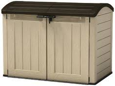 keter factor resin shed 6 by 3 feet taupe brown 6 by 3 feet