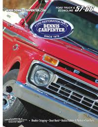 1957-66 Ford Trucks & Econoline Parts By Dennis Carpenter Ford And ... Parts Unlimited 1978 F100 Ford Ranger Wiring Example Electrical Diagram 1940fordpickup Maintenancerestoration Of Oldvintage Vehicles Dennis Carpenter C7tz9940700a Tailgate For 641972 Truck Car The Week 1939 34ton Truck Old Cars Weekly Big Window 1960 Flashback F10039s New Arrivals Whole Trucksparts Trucks Or Canadaford Catalog Free Best Your Next Nonamerican Mazda Will Be An Isuzu Instead Of A 194856 By And Cushman Tuneup Tips Simple Guide Dormant Vehicles