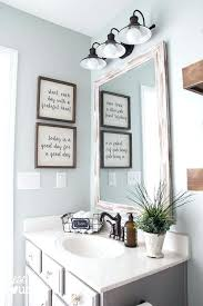 Wall Decor For Small Bathroom Appealing Best Half Bath Ideas On Pictures Rustic