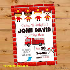 Fire Truck Birthday Cards | Www.topsimages.com