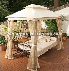 luxury canopy gazebo swing bed buy swing bed with canopy hammock