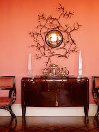 Coral Color Interior Design by Papaya Coral Orange Room Interior Inspired Palettes Pinterest