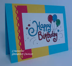 Making Birthday Cards Ideas For Greeting Card Techsmurf Awesome Make