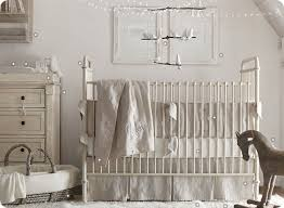 New white spindle crib turned into antique crib by Mom Love this