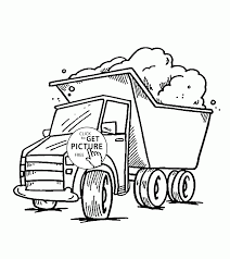 Little Truck Coloring Page For Kids, Transportation Coloring Pages ...