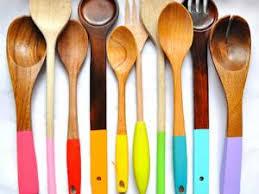 ustensile de cuisine personnaliser ses ustensiles de cuisine en bois par idee creative