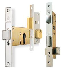 Mortise locks for metal doors