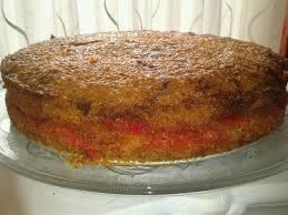 süße sünden selbst gebacken dreh dich um kuchen mit pfirsich