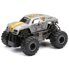 New Bright R/C Monster Jam Truck - Max-D New Bright Monster Jam Radio Control And Ndash Grave Digger Remote Truck G V Rc Car Jams Amazoncom 124 Colors May Vary Gizmo Toy 18 Rc Ff Pro Scorpion 128v Battery Rb Grave Digger 115 Scalefreaky Review All Chrome Scale Mega Blast Trucks Triangle By Youtube 1530 Pops Toys New Bright Big For Monster Extreme Industrial Co