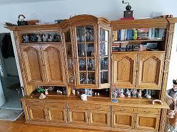 wohnzimmer schrank eiche rustikal hoork