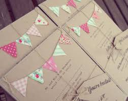 Pink And Mint Wedding Invitation