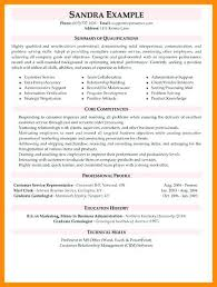Customer Service Resume Objective Examples From 79 Best Sample For Representative Call