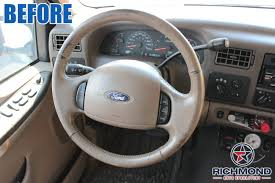 2000-2004 Ford F-250 Lariat Leather Steering Wheel Cover: Driver ... Truck Steering Wheel Cover Black Silver 4446cm Roadkingcouk Brown Masque Grey 4748cm 14 F814h Forever Sharp Wheels Scania 3series Black Real Italian Leather Steering Wheel Cover 1987 Wheel In A Truck Stock Photo Image Of Switches 40572066 Fichevrolet Ww Ii Fire Eagle Field Two Steering Wheeljpg Bestfh Rakuten Leather Car Auto American Simulator Youtube Pro Usa Chevy Gm Perforated Ss