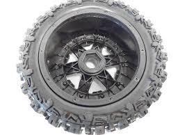 100 Gear Truck Wheels Rovan RC Front Knobby Fits HPI Baja 5T King Motor T1000