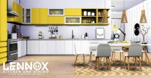 Lennox Kitchen And Dining Set At Simsational Designs