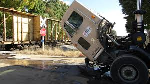 100 Garbage Truck Accident No Injuries In Train Vs Garbage Truck Crash