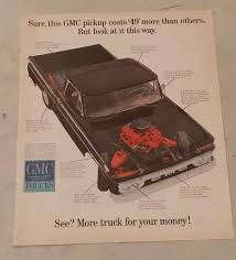 100 Trucks Paper Vintage GMC Truck Advertisement EBay