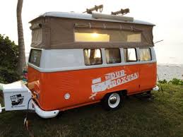 Dub Box Cool Pop Up Campers Inspired By Classic VW Vans