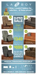 Boscovs Leather Sofas by La Z Boy Weekly Ad Online Insert Sept 30 2016
