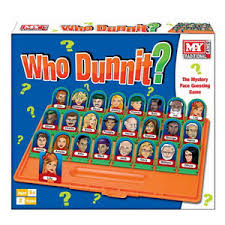 Image Is Loading GUESS WHO DUNNIT NAME BOARD GAME 48 CHARACTERS